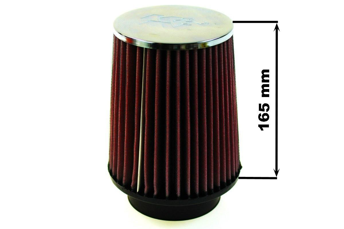 Filtr stożkowy K&N RC-4630 80-89mm - GRUBYGARAGE - Sklep Tuningowy